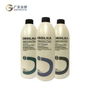 Salon professional amino acids hair perm lotion collagen perm cream 750ml