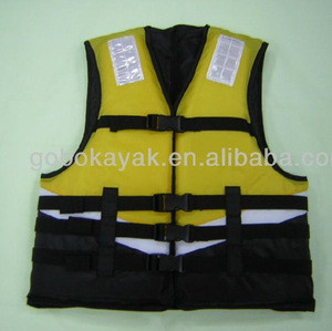 Sea kayak and water floatation vest