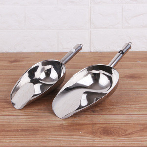 Stainless steel Ice cubes food shovel ice scoop new kitchen tool bar accessories