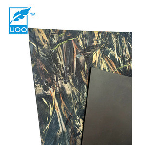 Stretchy neoprene camouflage fabric for fishing wader suits