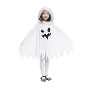 The White Witch White Ghost Storm Shadow Halloween Children's Stage Costumes