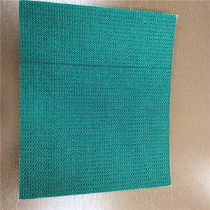 Wholesale price 7.0mm Green PVC conveyor belt with smooth pattern and impregnated bottom fabric