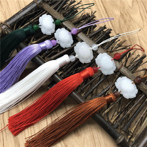 XULIN Chinese Knot Tassel Caps for Jewelry Fringe