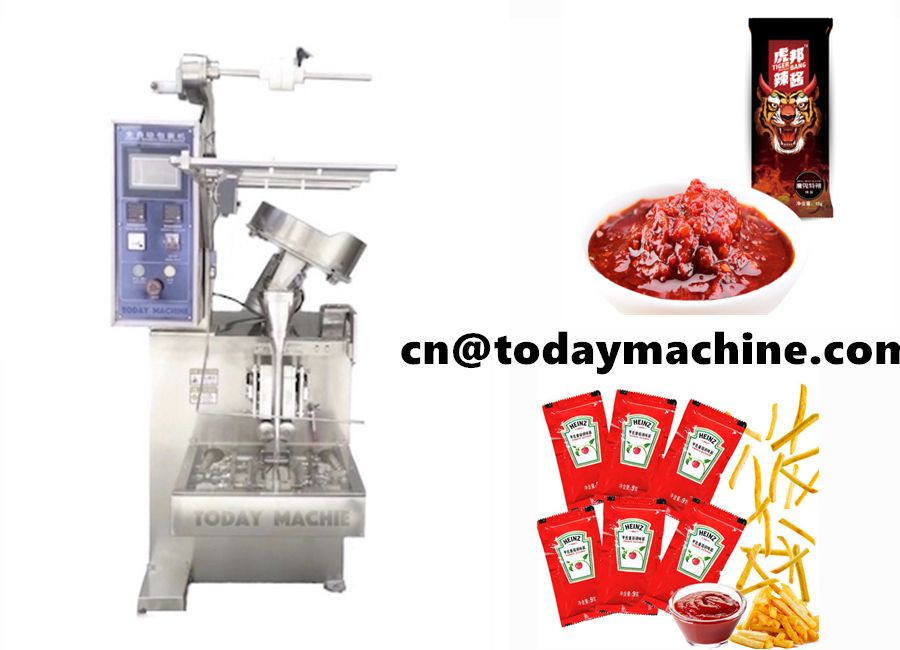 Bagged Melon seeds tablet packaging machine with counting system