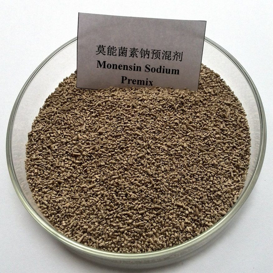 For veterinary feed additive cas 17090-79-8;22373-78-0 monensin sodium 20% for animal healthy