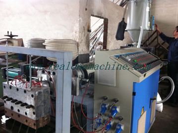Import PP plastic packing belt production line from China