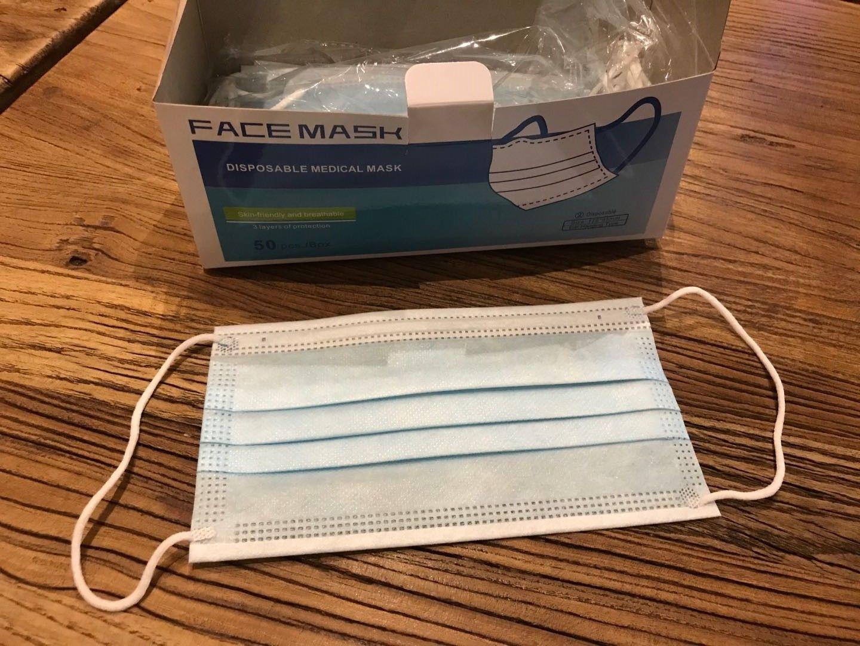 Earloop 3ply face mask
