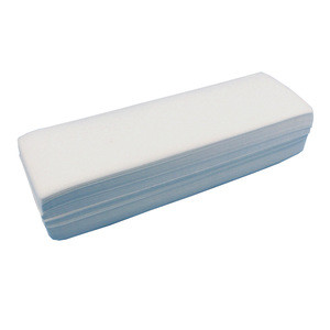 100% muslin cotton non woven waxing strip for home use