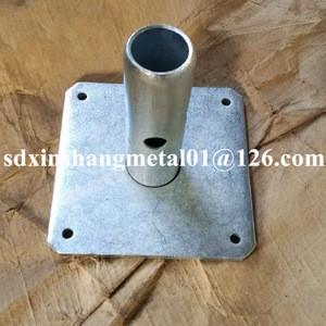 5x5 scaffolding base plate