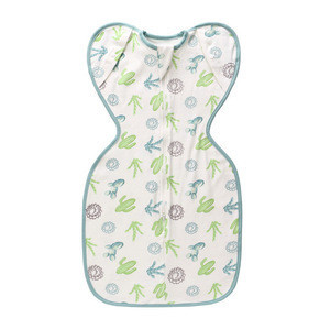 All Season Cotton Baby Sleep Bag and Sack with Inverted Zipper, Fits Infants Babies Ages 0-6 Months, Sleeveless Soft Wearable