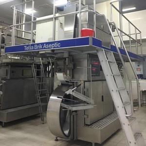 Aseptic brick carton filling machine dairy milk processing machinery for saleTBA 22 200B