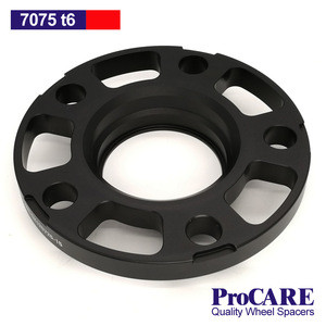 Auto spare part 7075 t6 15mm 5x120 racing derived car aluminum wheel spacer