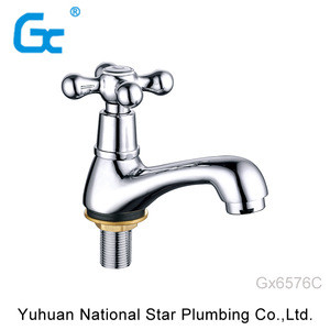 Classic design water bibcock brass bibcock tap zinc alloy polished chrome plated bibcock