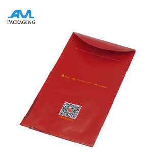 Custom Printing Chinese New Year Paper Red Pocket Envelope wholesale