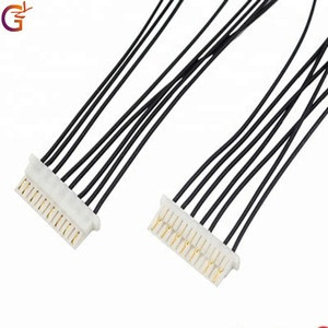 Customized 1.0mm Pitch 8 Pin Connectors terminal  wire harness Cable Assembly
