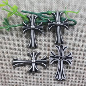 Factory Antique cross  shape metal garment rivet for handbag