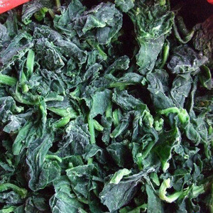 Frozen Vegetables of Chopped Spinach