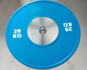 High Quality Competition Rubber Bumper Plates(10kg,15kg,20kg,25kg)