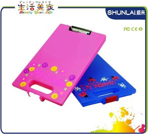 High quality Plastic storage clipboard, A4 office storage clipboard,
