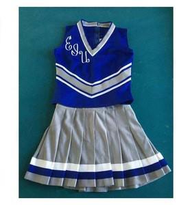 High Quality Women Sports Training Cheerleader Uniform Set Wholesale Girls Competition Cheerleading