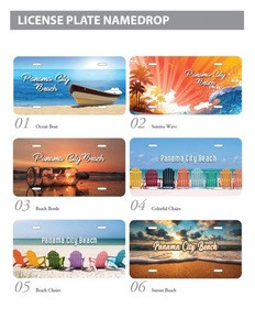 Hot Sale Personalized License Plates