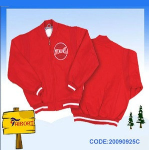 Kids fleece jacket with hood(20091229C)