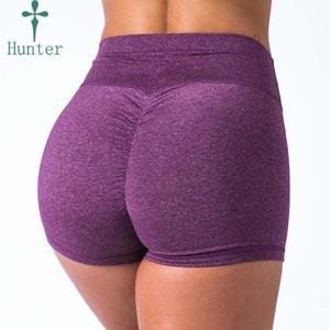 Latest Booty Yoga Pants Scrunch Short Women Breeches High Waist Gym Shorts