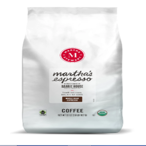 Martha's Espresso Whole Bean 2 lb Bag