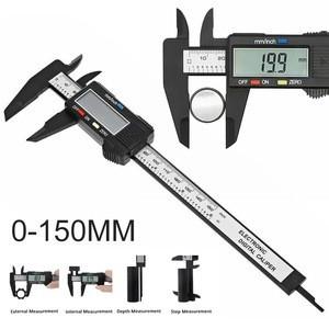 New 6'' 150mm LCD Digital Vernier Caliper Micrometer Measure Tool Gauge Ruler