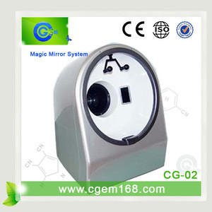 Newest portable beauty care UV skin tester and analyzer