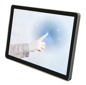 Outdoor Waterproof IP65 High Brightness 15.6 inch touch screen monitor