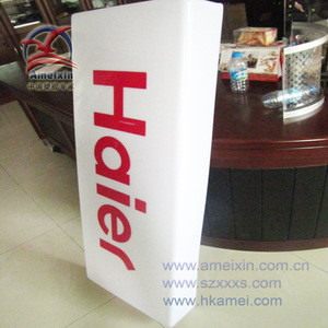 Plastic Light Box Advertising