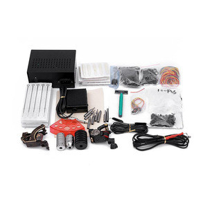 Professional Beginner Tattoo kits Power supply Complete Two coil machines Tattoo Kit