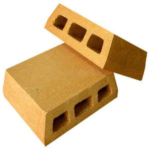 Refractory fireclay brick for kiln wagon of red ceramic industry