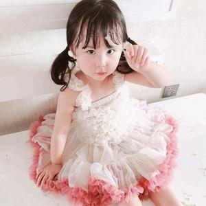 Sandro 2018 New White Baby Party Girl Summer Dress