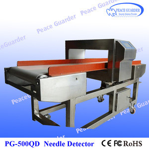 Shoes needle detector machine Industrial Metal Detector with high sensitivity PG500QD
