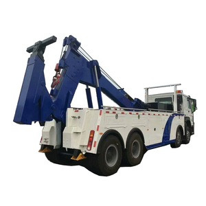 SINOTRUK HOWO 8x4 30tons 40tons 50tons  Road Wrecker Truck Tow Truck