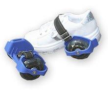 Skate Buds, Flashing Rollers, Heel Gliders