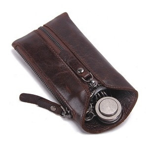 Vintage Genuine Leather Car Key Holder Carry Key Wallets Manufacturer
