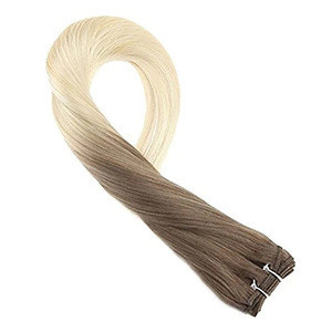 Wholesale 10A virgin hair hot selling customized heat resistant cheap price hair weft human hair extensions