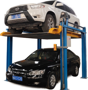 ZX Ground fixed parking equipment used 4 post car lift for sale