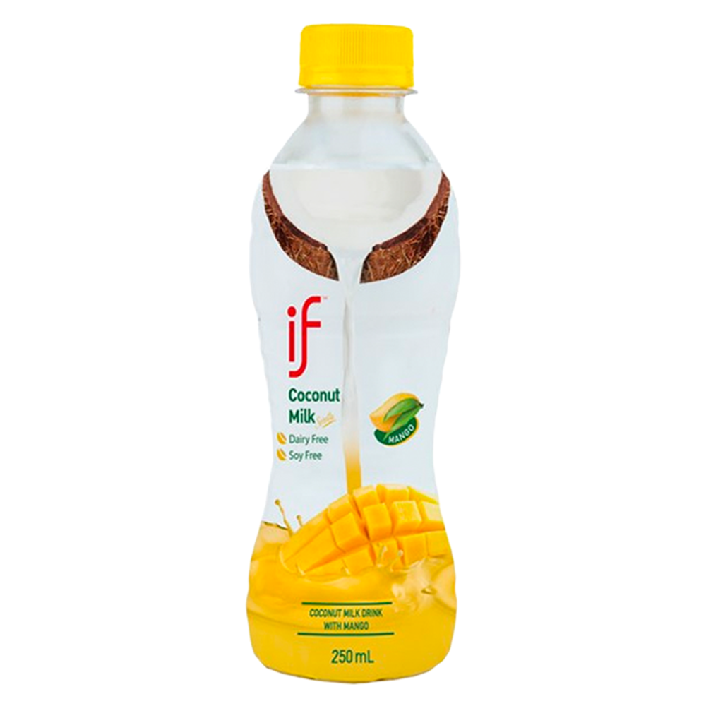 Premium Coconut Milk with Mango | Naturally Hydrating | No Preservatives | Halal Certified | 24 pack | 8.5 OZ