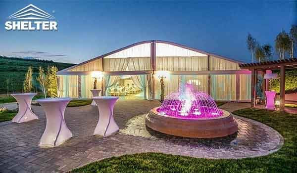 20 by 20m Marriage Tent with Luxury Decoration Design