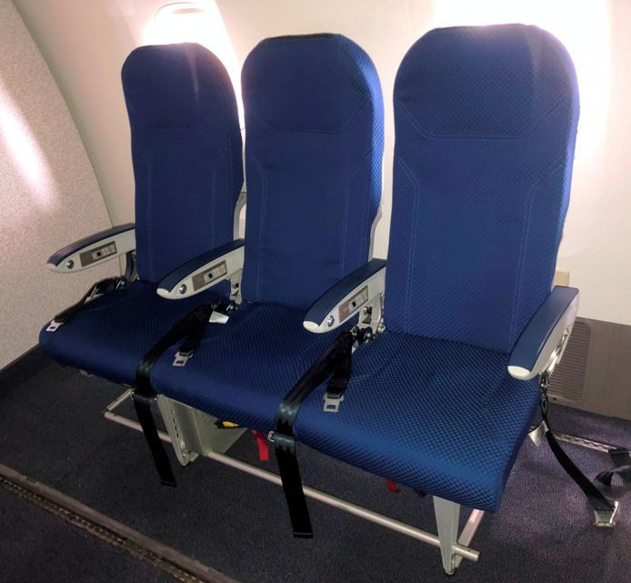 Aircraft Seat Triple