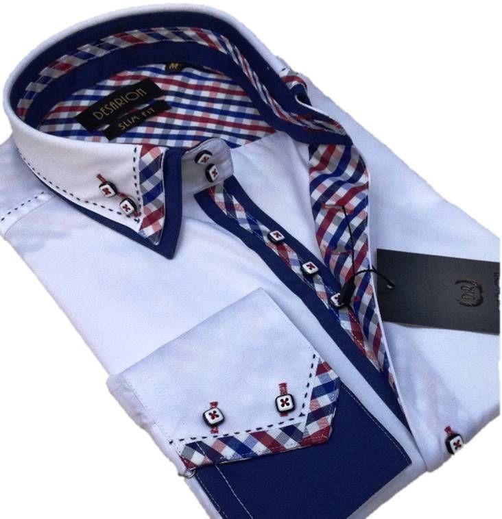 Model Zizu slimfit men's shirts