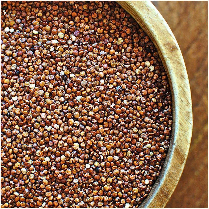 Brown/white quinoa, Castile bean, Pallar bebé