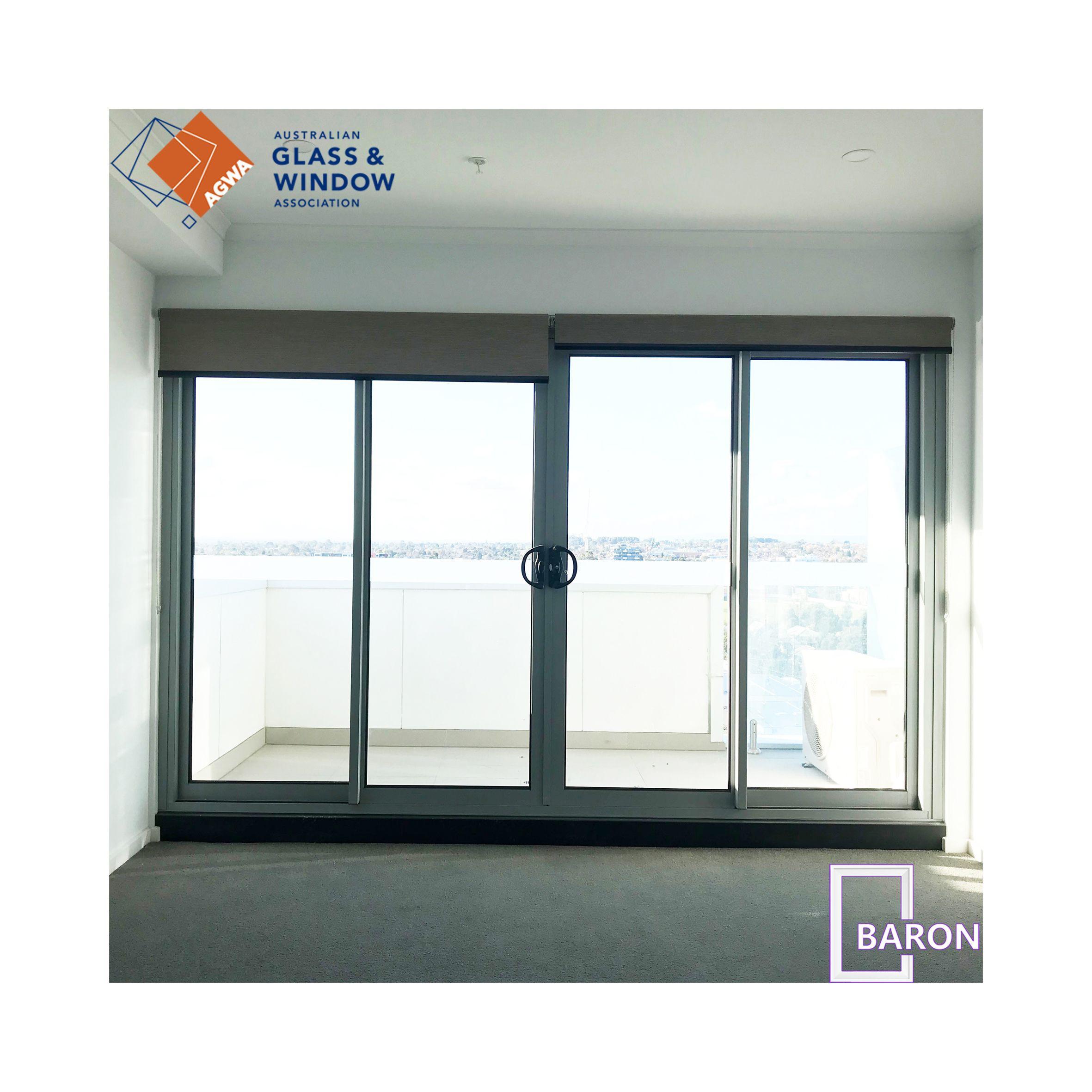 BARON member of Australian Glass & Window Association supply Australian standards double glazed aluminum sliding doors & windows