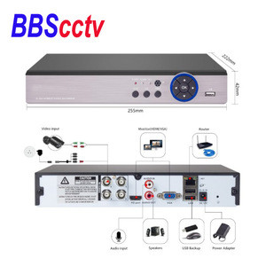 1080N DVR 720P HD Outdoor Security System 4CH CCTV Surveillance ahd camera kit