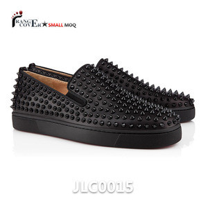 2017 Wholesale Price Black Brown PU Leather Men Chun Sen Shoes