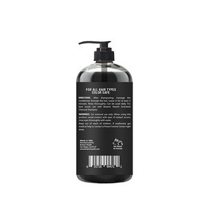 2018 Hot Selling Private Label Smoothing Repairing Conditioner Active Charcoal Hair Conditioner